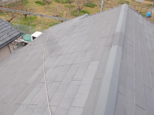 周りの建物に比べ綺麗な屋根