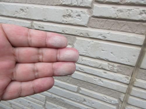 ケイナスホーム サイディング 外壁 チョーキング
