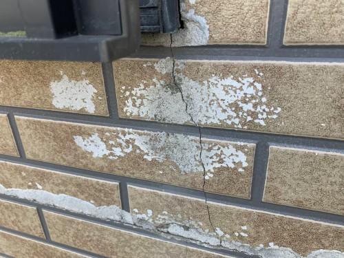 ケイナスホーム 外壁 塗膜の剥がれ2
