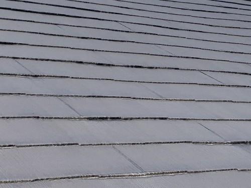ケイナスホーム 屋根の色が薄くなった