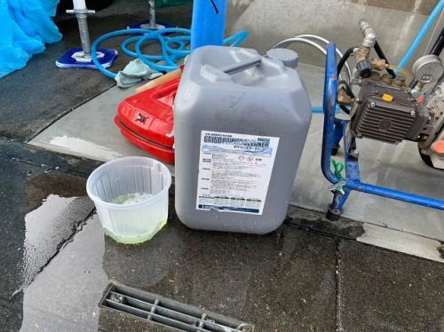 ケイナスホーム バイオ高圧洗浄 薬品