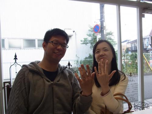 婚約指輪から結婚指輪へ
