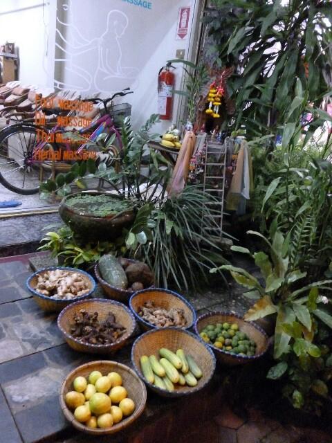 タイでのマッサージ文化