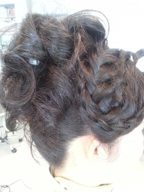 すっごく、髪が多いお客様のセット第2段