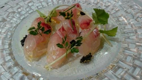 天然鯛のマリネ  ライム風味