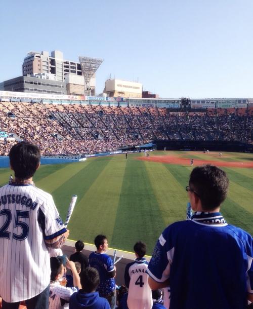 美容師野球観戦日記