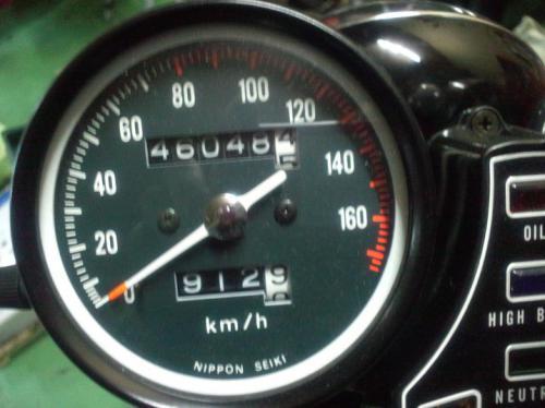 CB400F/国内398ccスピードメーター