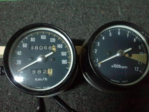 CB400F/国内408ccスピードメーター