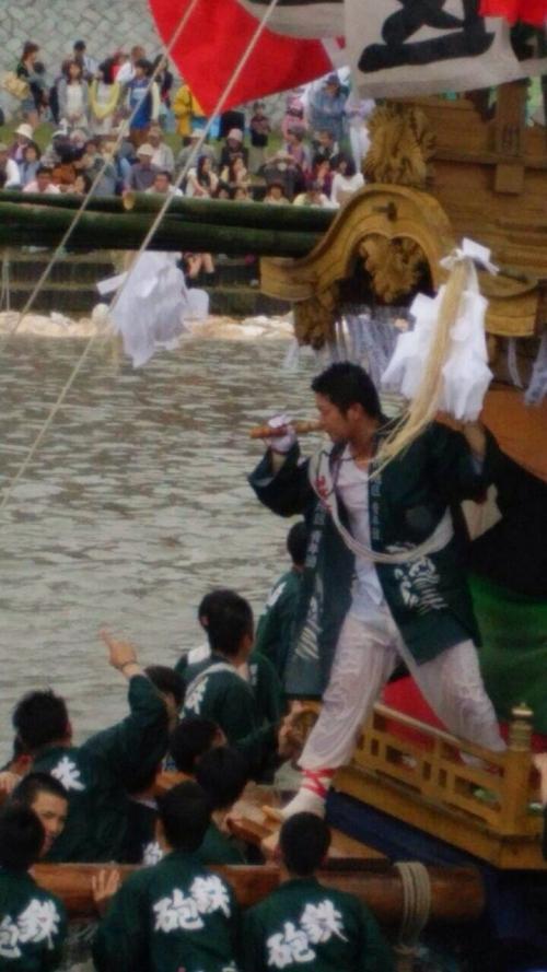 川渡り神幸祭♪