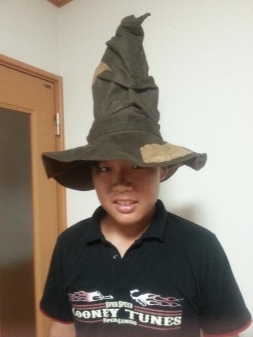 組分け帽子