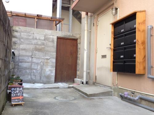 路地裏タイ古式マッサージ。