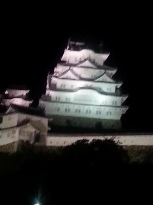 姫路城を見ました。