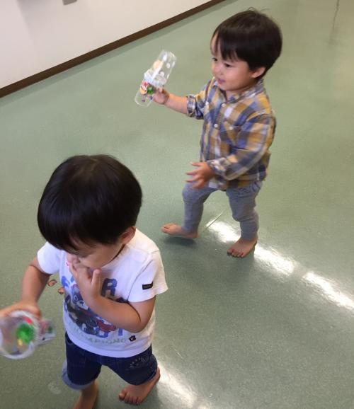 親子のリズム遊び  日吉本町