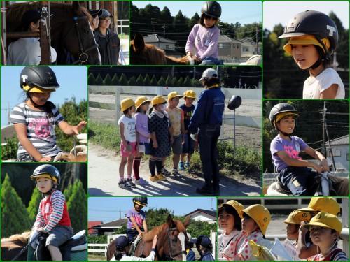 町探検の小学生たちがきました