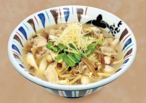 季節限定「あんかけキノコ麺」は本日発売開始です。