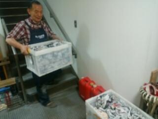 登り窯焼成の作品の最終便の箱詰めが完了。いよいよ明後日。
