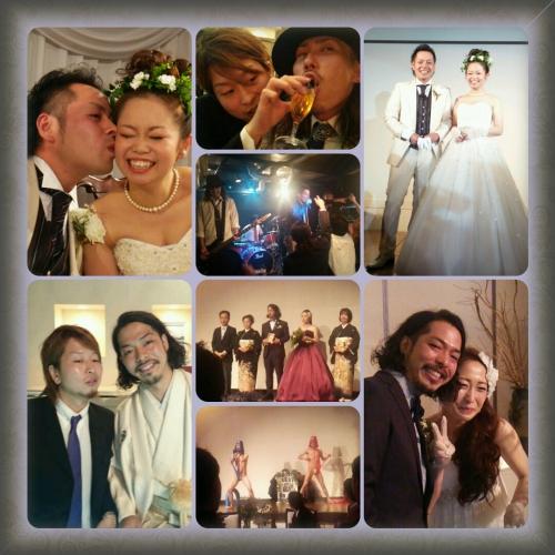 ■2日連続結婚式■