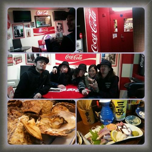 ■コカコーラ&牡蠣■