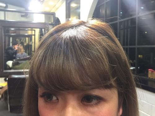 前髪の悩み解消!! 前髪を簡単に流しやすくするやり方☆