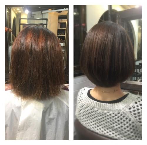 くせが強く多毛ですが簡単にまとまるヘアスタイルにできますか?