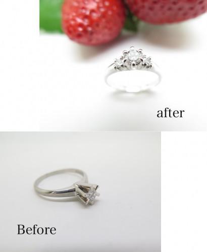 婚約指輪リフォーム リメイク 修理 サイズ直し