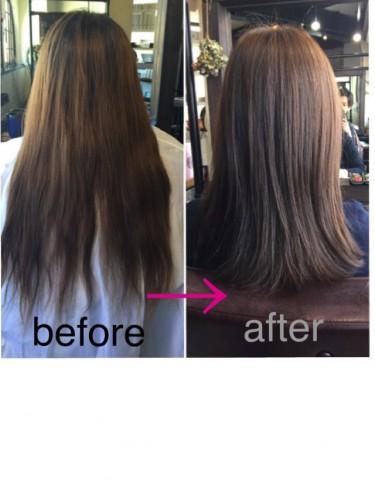 広がる、まとまらない、ツヤが出ない...髪質改善ヘアスタイル