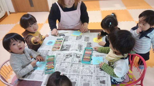 ファミリー託児所 3月の製作