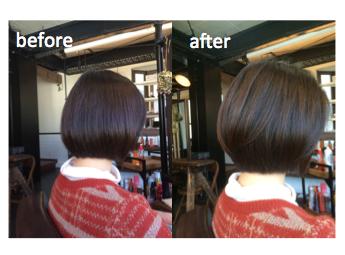 30代から始めたい、カットでの髪美容