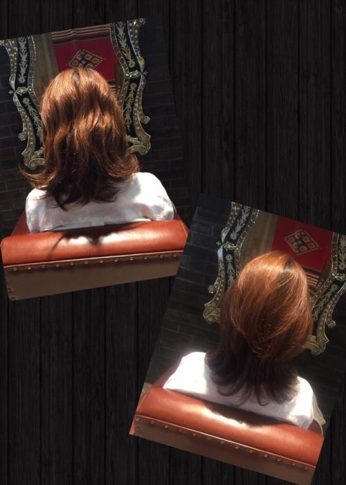 自然な縮毛矯正+魔法のトリートメントでツヤツヤ髪に☆
