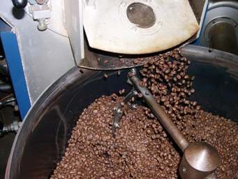 焙煎のプロセス