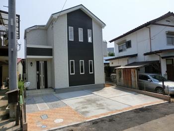 完成 土地43坪 上尾市平塚 3台駐車可  2,280万円