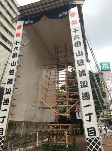 もうすぐ博多祇園山笠!
