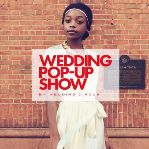 wedding circus pop up show