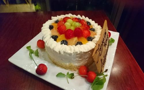自家製バースデーケーキ承ります!
