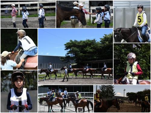 豊島区夏休み乗馬教室