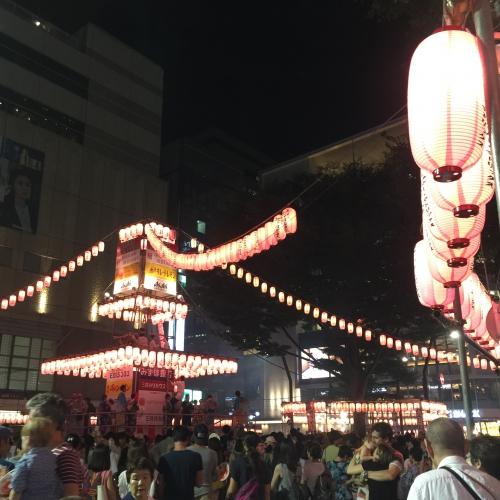 恵比寿 夏祭り