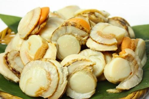 海鮮料理 美容効果のある人気の広島風お好み焼き ホタテ