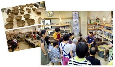 陶芸教室 東京 国立けんぼう窯。天目茶碗を作る集中講座開催