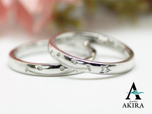 結婚指輪のオーダーメイド埼玉県からご来店頂きました