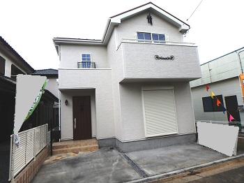 上尾市栄町 南欧風新築住宅 2,280万円 仲介手数料無料