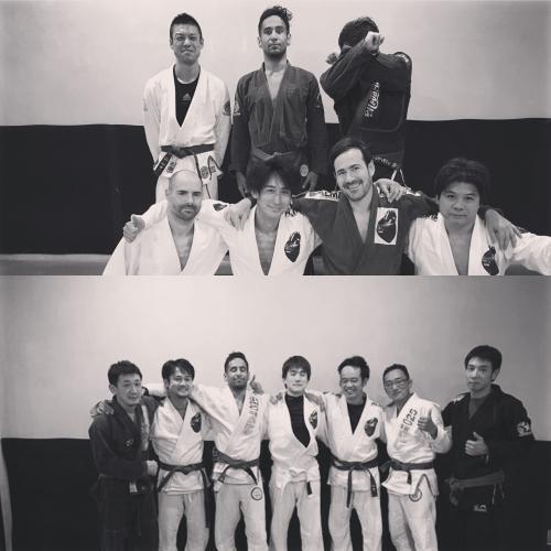 金曜柔術クラスは盛況でした。