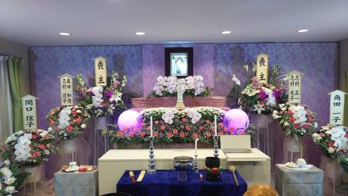 立川市で家族葬を行いました