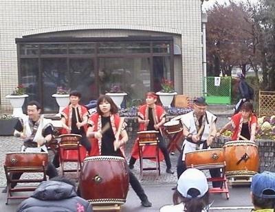 和太鼓演奏依頼、さいたま市大宮区梅祭り イベント演奏埼玉県