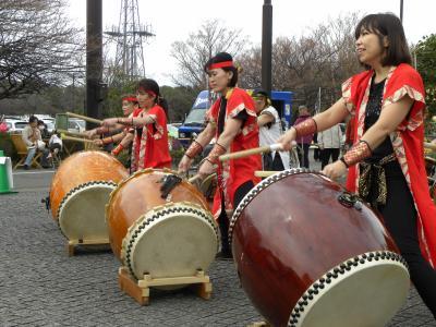 東京マラソン応援和太鼓演奏依頼、埼玉マラソン大会和太鼓演奏