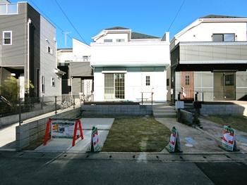 西区プラザ 南西道路 日当たり良好な新築デザイナーズハウス