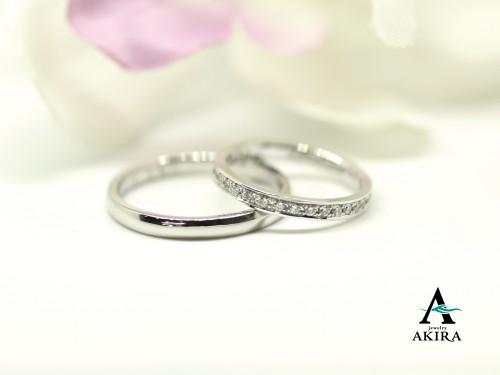 フルエタニティの結婚指輪のオーダーメイド富里市から