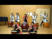 埼玉県上尾市小学校で和太鼓授業、小学校邦楽授業和太鼓教室