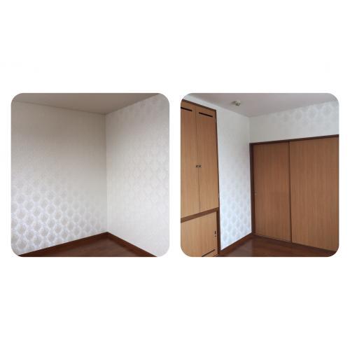 北海道北広島市のお客様 クロス(壁紙リフォーム)張り替え工事