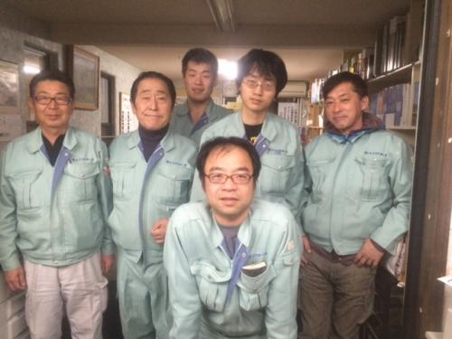 名古屋リフォームエイコウホーム営業の素敵な面々です.