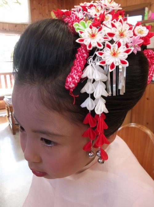 七五三☆日本髪&メイク